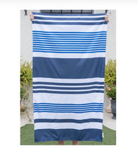 Load image into Gallery viewer, Stripe Microfiber Beach Towel