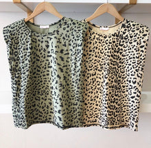 Load image into Gallery viewer, Leopard Print Should Pad Tee