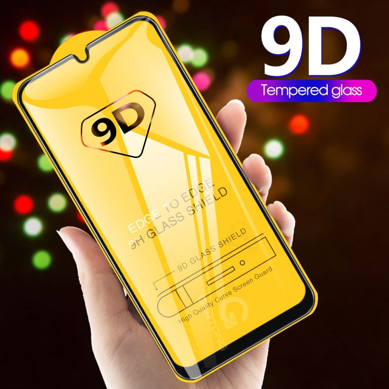 9D Curved Tempered Glass For Samsung Galaxy A30 A50 A10