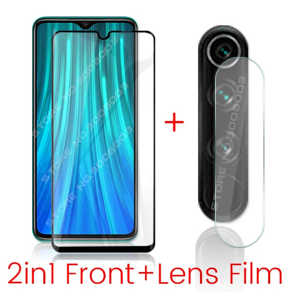 2-in-1 camera glass for xiaomi redmi note 8