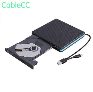 2pcs/External CD DVD Drive Burner