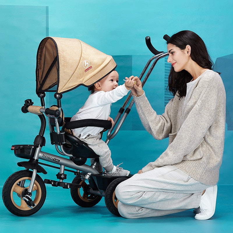 360 Degrees Rotated Baby Stroller