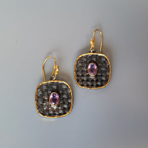 Quilted Earrings