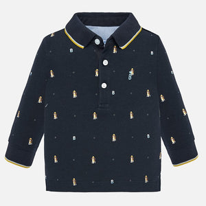 Mayoral Printed Polo