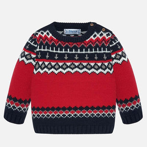 Mayoral Jacquard Sweater
