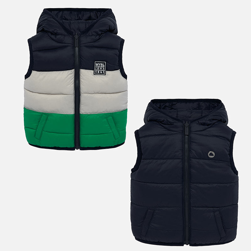 Mayoral Padded Reversible Vest