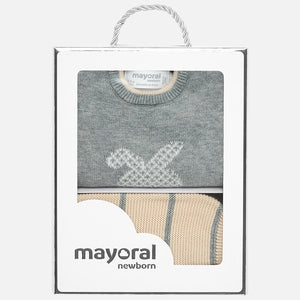 Mayoral Footed Pajamas Set