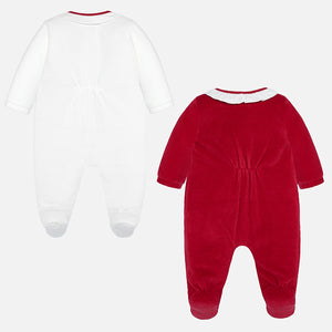Mayoral Soft Velour Pajamas Set