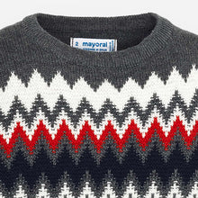 Load image into Gallery viewer, Mayoral Jacquard Sweater