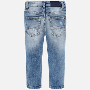 Mayoral Denim Ripped Pants