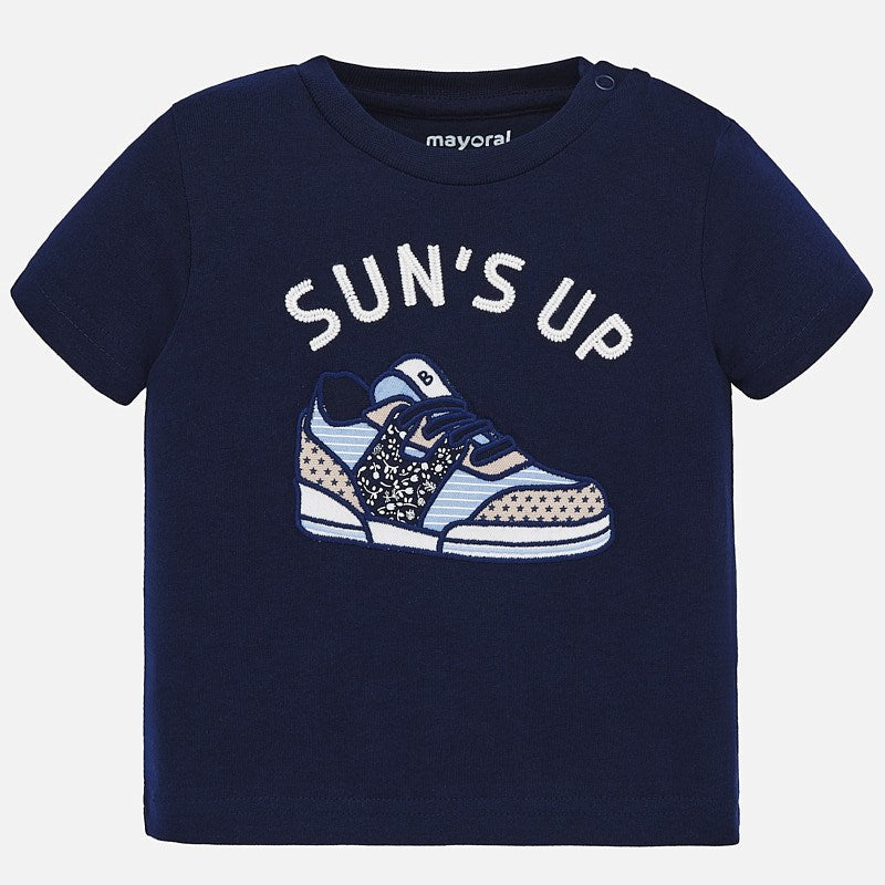 Mayoral Sneaker Applique T-shirt