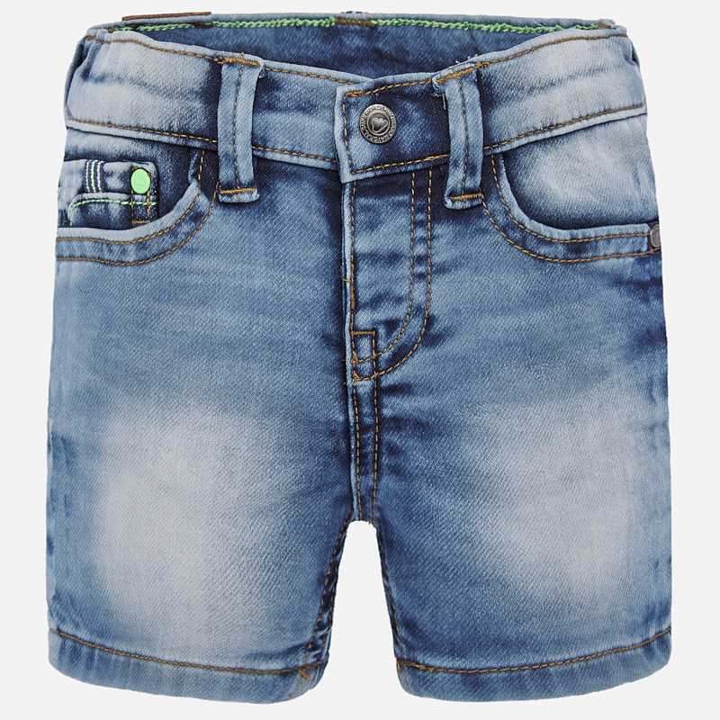 Mayoral Soft Denim Bermudas