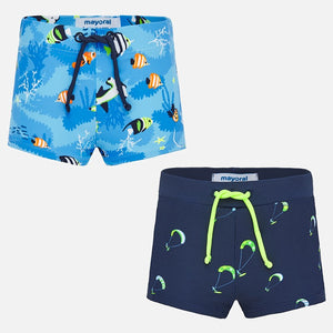 Mayoral Singapore 2pc Swim Trunk Set