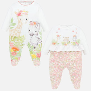 Mayoral Long Graphic Pajamas Set