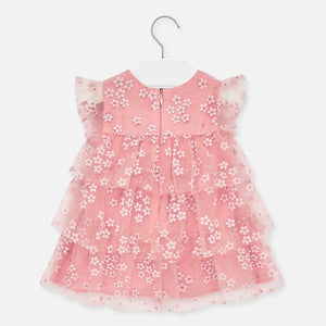 Mayoral Flowers Tulle Dress