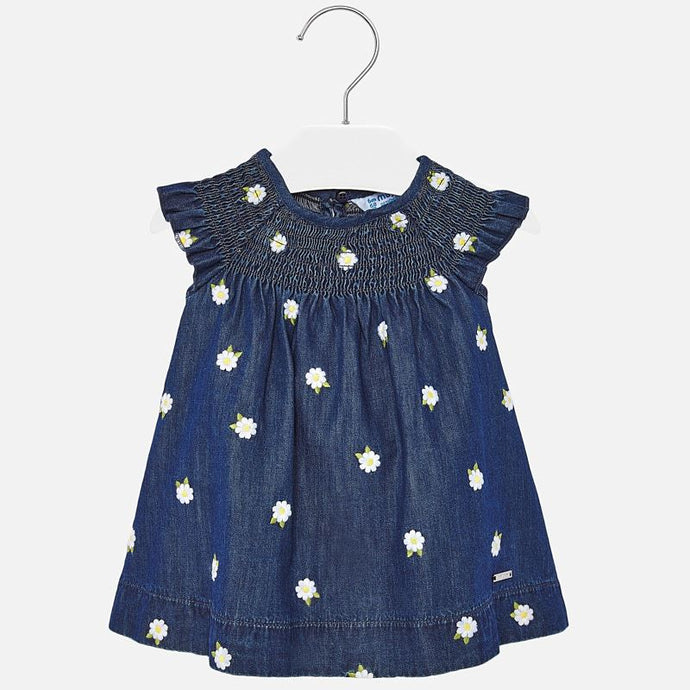 Mayoral Singapore Denim Daisy Dress
