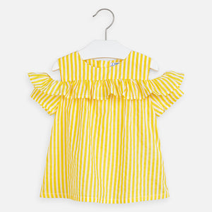 Mayoral Stripes Loose Shirt