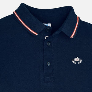 Mayoral Short Sleeve Polo Set