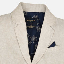 Load image into Gallery viewer, Mayoral Tailored Linen Blazer