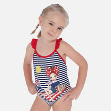 Load image into Gallery viewer, Mayoral Graphic Print Swimsuit