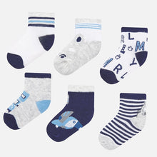 Load image into Gallery viewer, Mayoral Set Of 6 Socks