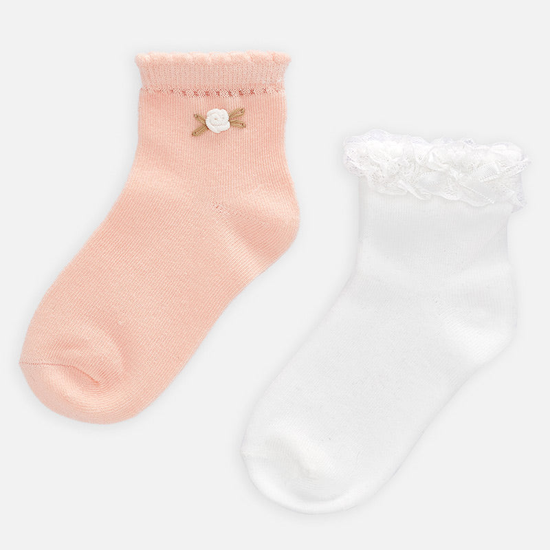 Mayoral Ruffle Socks Set