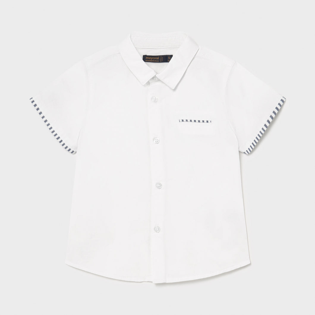 Mayoral Short Sleeve Dress Shirt