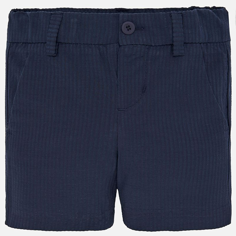 Mayoral Seersucker Bermuda Shorts