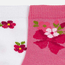 Load image into Gallery viewer, Mayoral Flower Socks Set