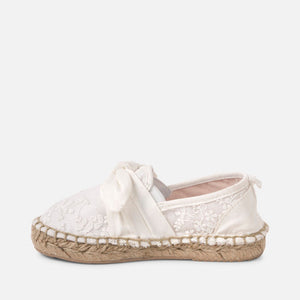 Mayoral Bow Espadrilles (26-30)