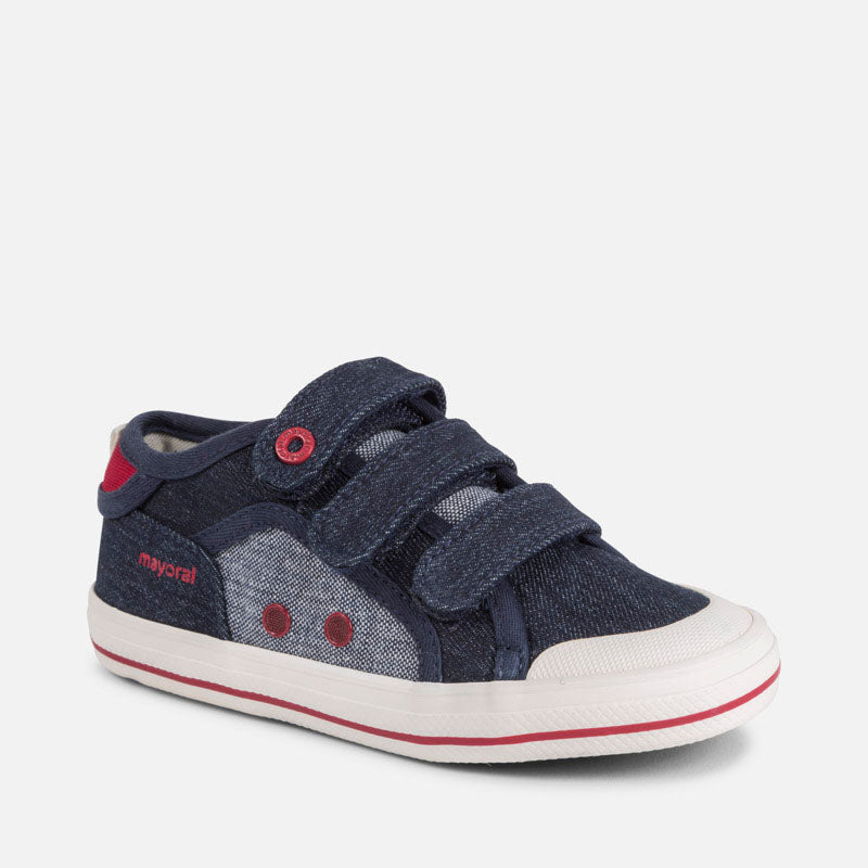 Mayoral Canvas Velcro Trainers (26-30)