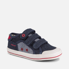 Load image into Gallery viewer, Mayoral Canvas Velcro Trainers (31-35)