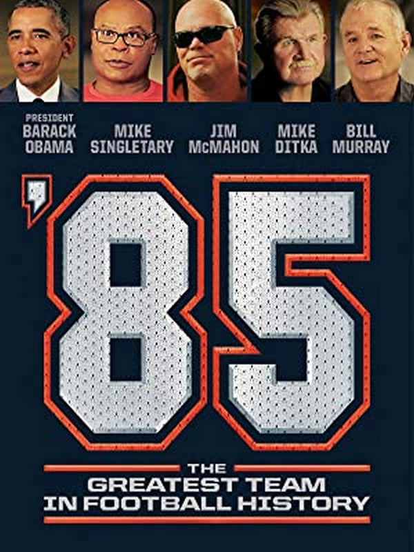 1985 Chicago Bears The Greatest Team In Football History
