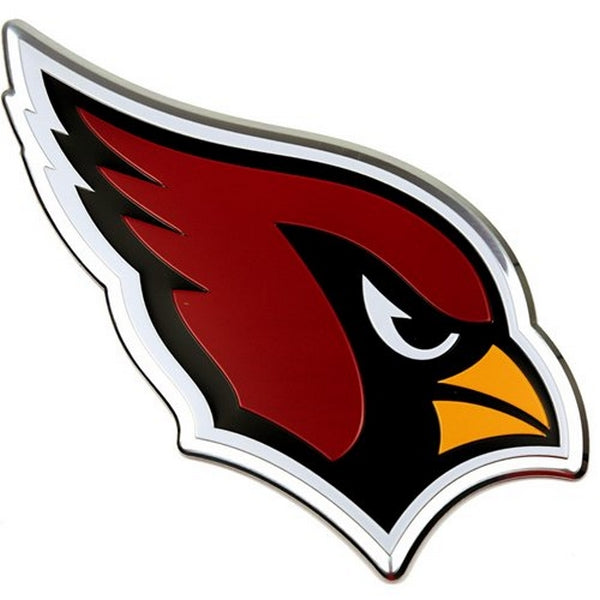 Arizona Cardinals 3D Color Emblem Car Team Decal