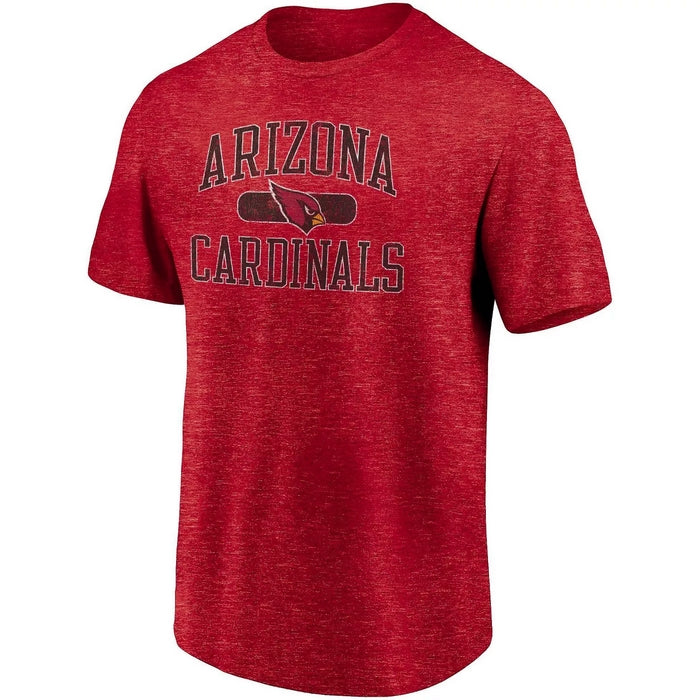 Arizona Cardinals Heather Red NFL Practice T-Shirt