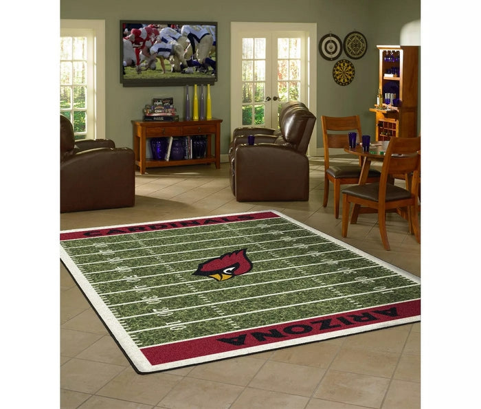 Arizona Cardinals NFL 6'x8' Homefield Game Day Rug