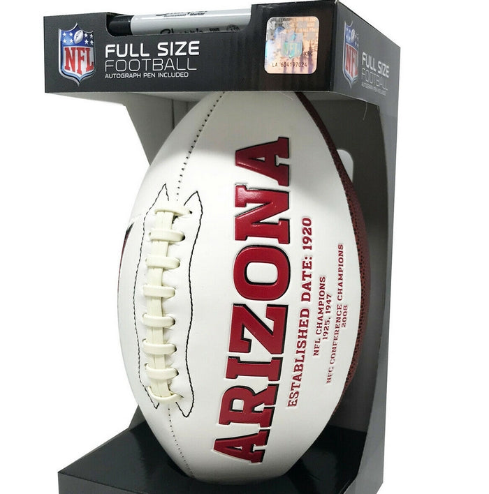 Arizona Cardinals Signature Series NFL Official Licensed Football