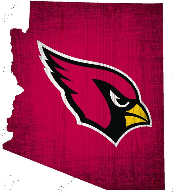 Arizona Cardinals Wood Sign