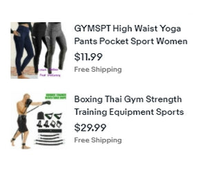 Shop Ebay for Fitness Gear
