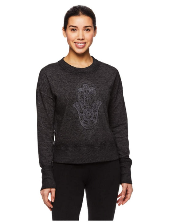 Gaiam Pullover Activewear Yoga Sweater
