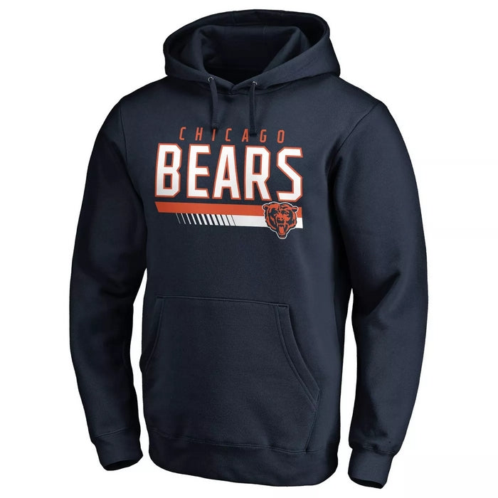 RWA Sportswear - Chicago Bears Game Day Long Sleeve Fleece Hoodie