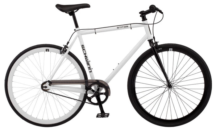 Schwinn Stites Fixie Commuter Single-Speed Steel Frame Road Bike