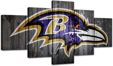 Baltimore Ravens Wall Decor Canvas Art Print