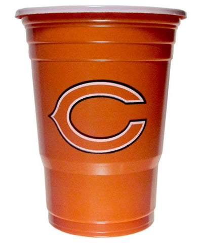 RWA Sportswear - Chicago Bears Plastic Game Day Cups 18 Count