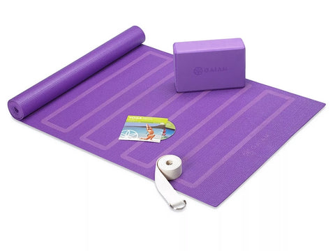 Gaiam Yoga for Beginners Kit