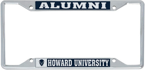 Howard University Alumni License Plate Frame