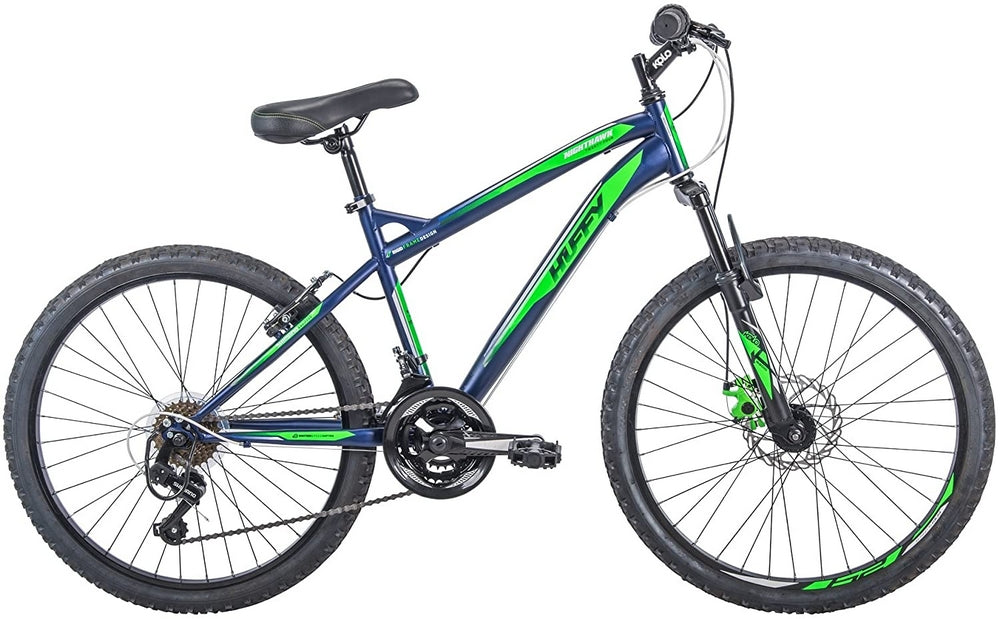 Huffy 24 Inch Nighthawk Boys Mountain Bike