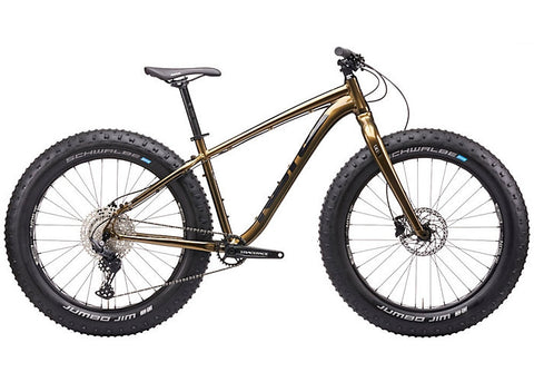 RWA Sportswear - Kona Wo All Terrain Fat Tire Performance Bike