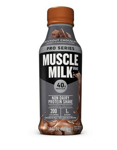 RWA Sportswear -  Muscle Milk Pro Series Protein Shake Knockout Chocolate 12 Pack