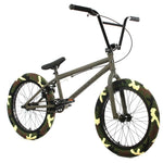 RWA Sportswear - Elite 20 Inch Freestyle BMX Destro Bike Crank Army Green